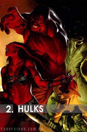 Os mais fortes da Marvel: Hulks