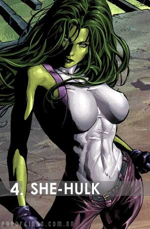 Os mais fortes da Marvel: She-Hulk