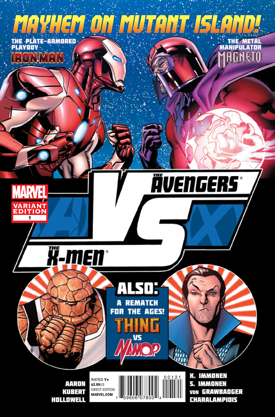 Preview de Vingadores Vs X-Men #1