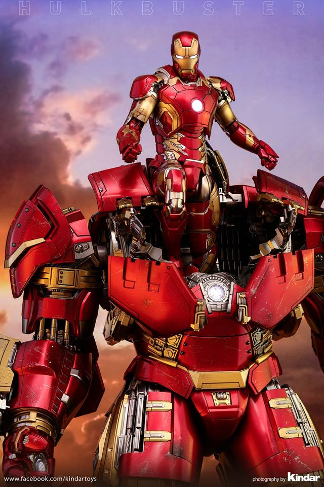 Versão final do Hulkbuster da Hot Toys