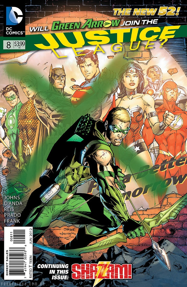 Preview de Justice League #8