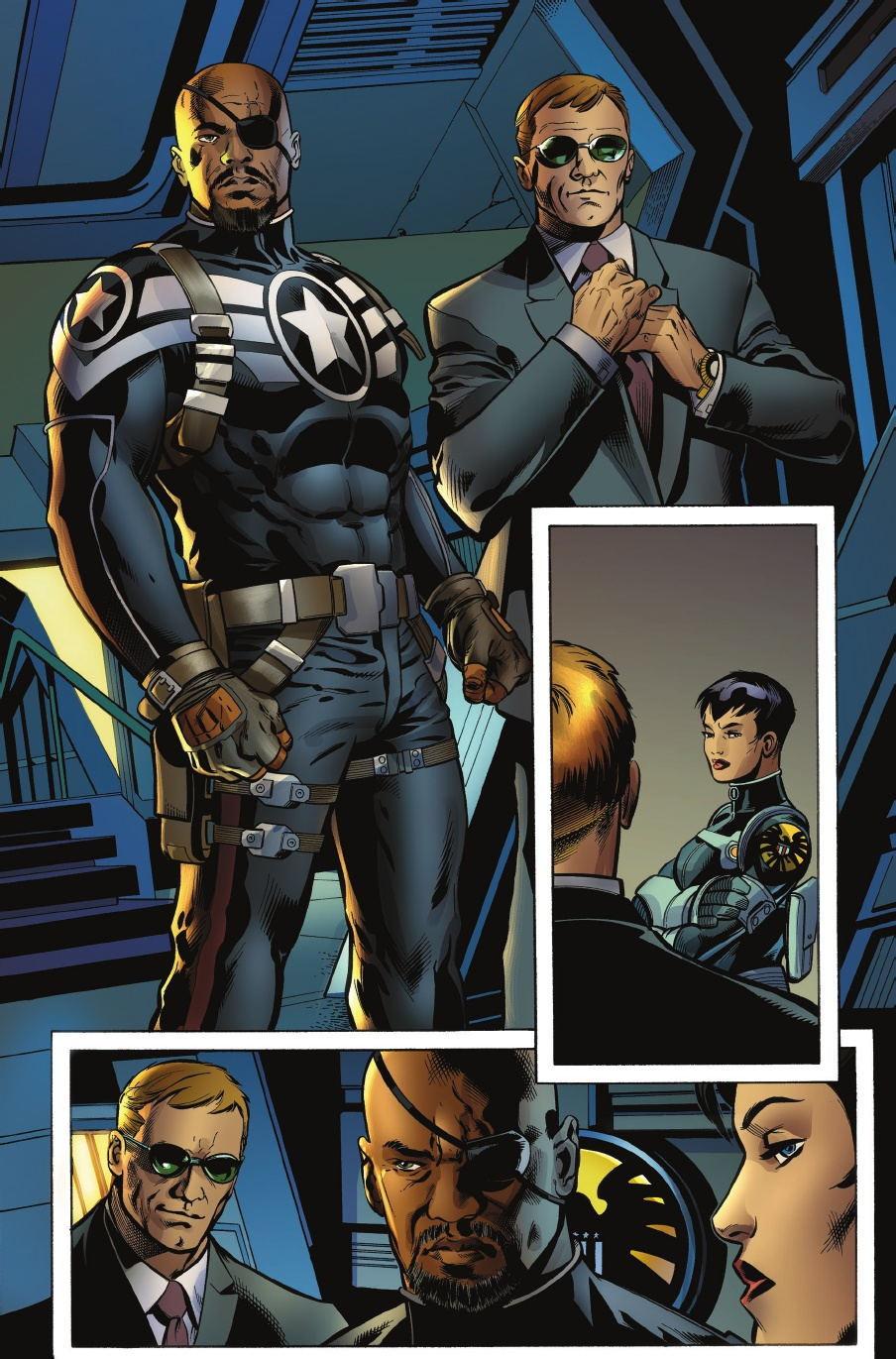 Nick Fury Jr. e Agente Coulson integrados ao universo Marvel