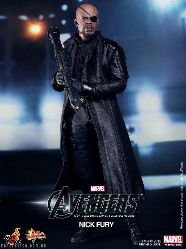 Nick Fury da Hot Toys