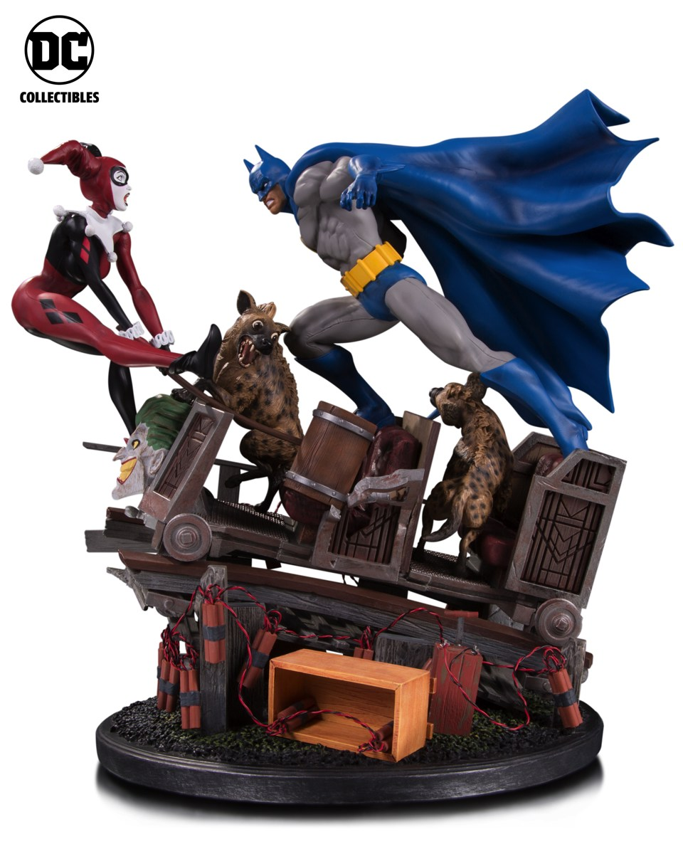 Toy Fair 2017: As melhores fotos do evento - Blog Farofeiros - DC Collectibles - Batman Diorama