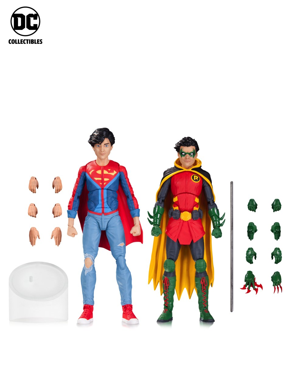 Toy Fair 2017: As melhores fotos do evento - Blog Farofeiros - DC Collectibles - Super Boy - Robin