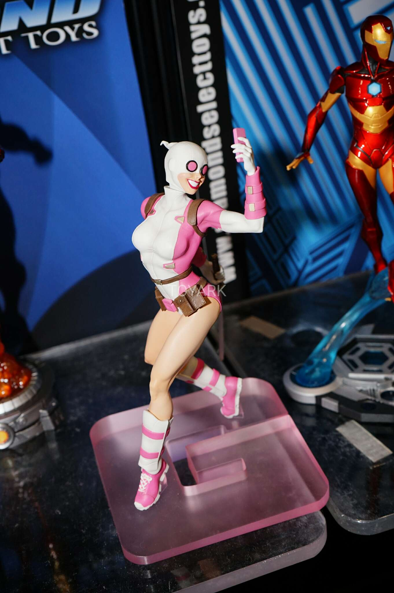 Toy Fair 2017: As melhores fotos do evento - Blog Farofeiros - Diamond Select - Gewnpool