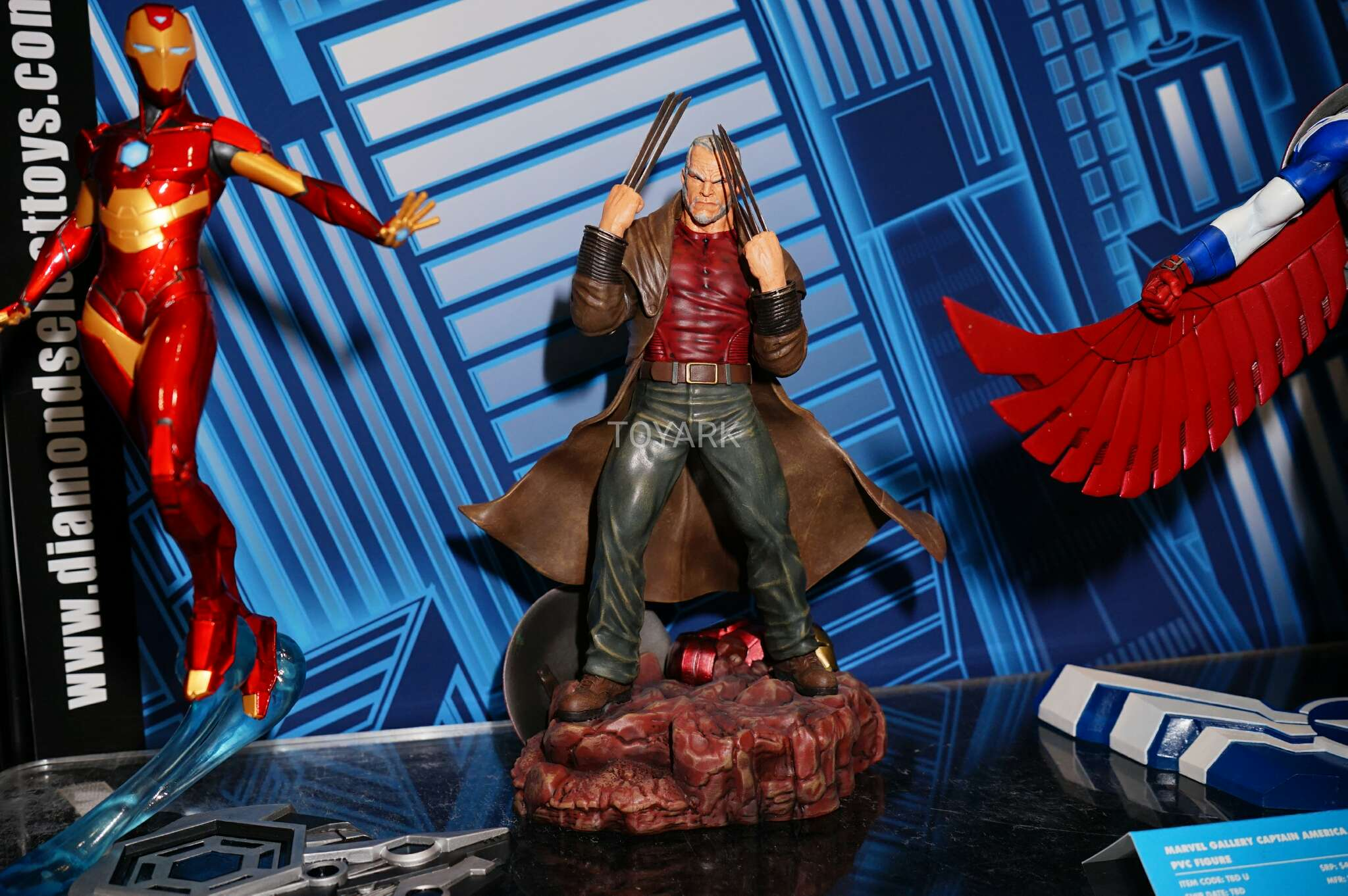 Toy Fair 2017: As melhores fotos do evento - Blog Farofeiros - Diamond Select - Old Man Logan