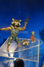 Hasbro - Rocket Racoon com mini Groot
