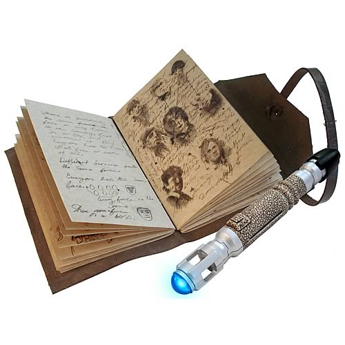 Doctor Who Journal of Impossible Things & Sonic Screwdriver
