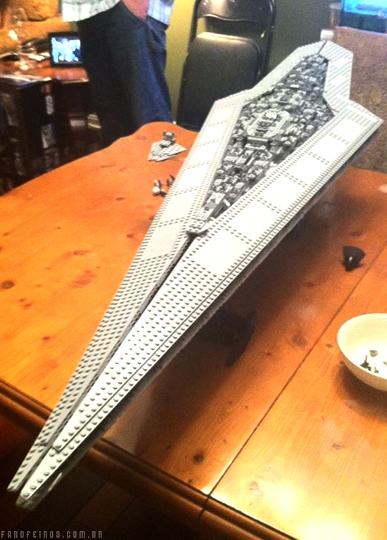 Lego Super Star Destroyer de Star Wars