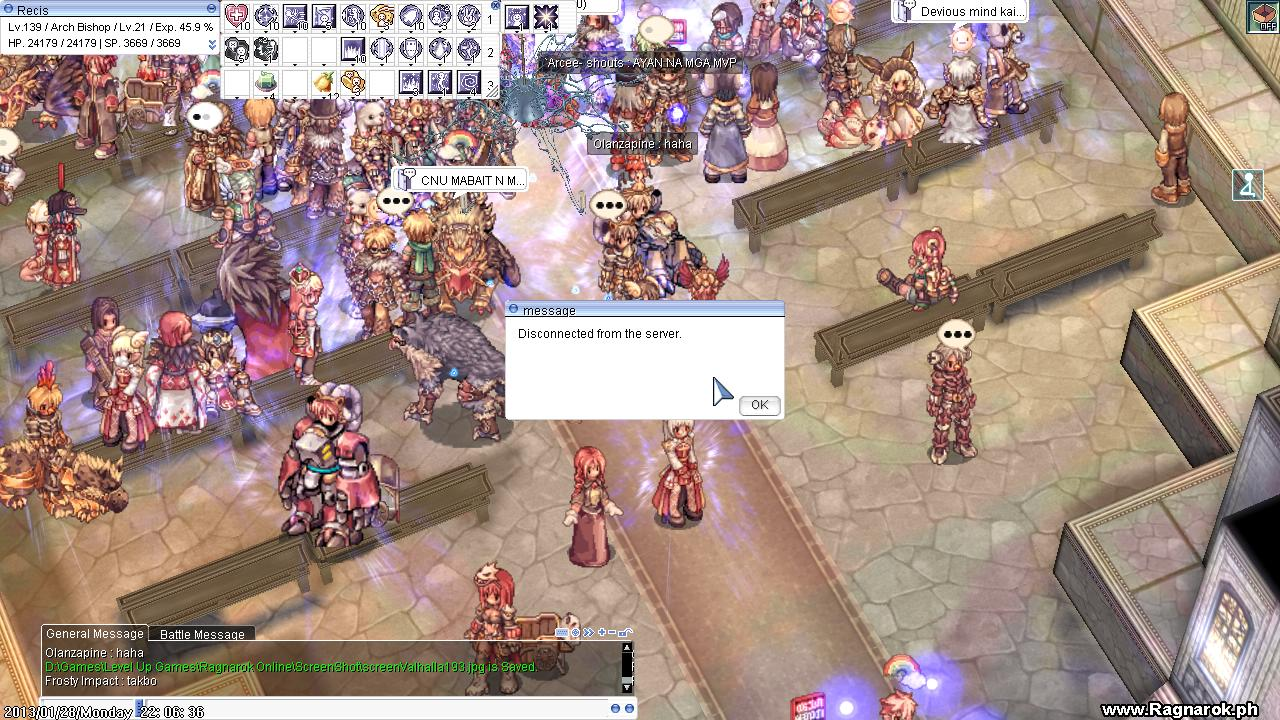 Hate the game, not the player - Ragnarok Online