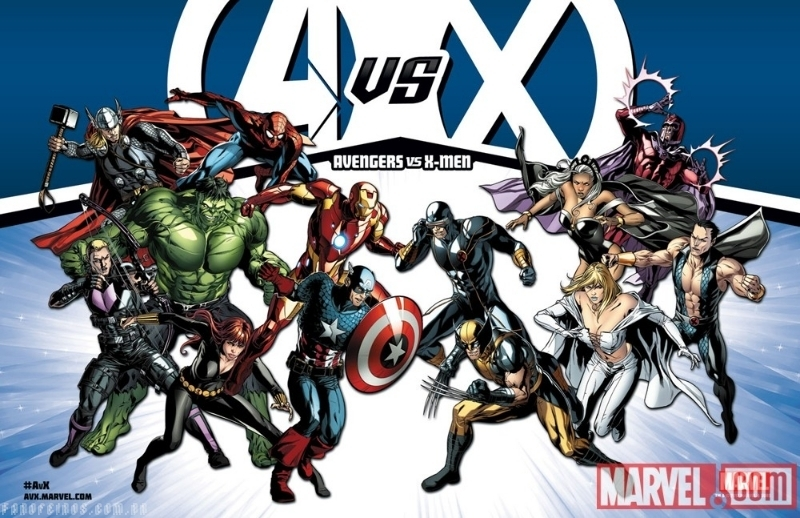 AvX: Vingadores vs X-Men