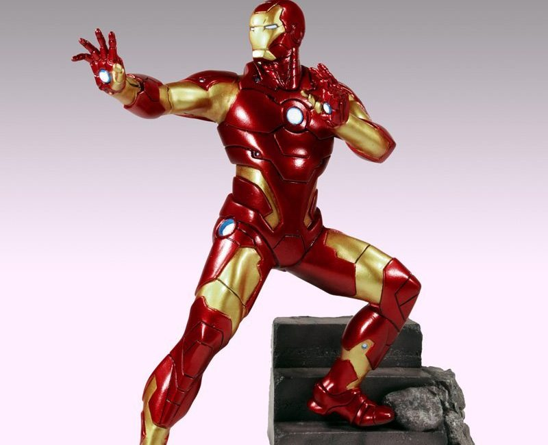 Avengers Reborn – Iron Man Fine Art Cold Cast Statue