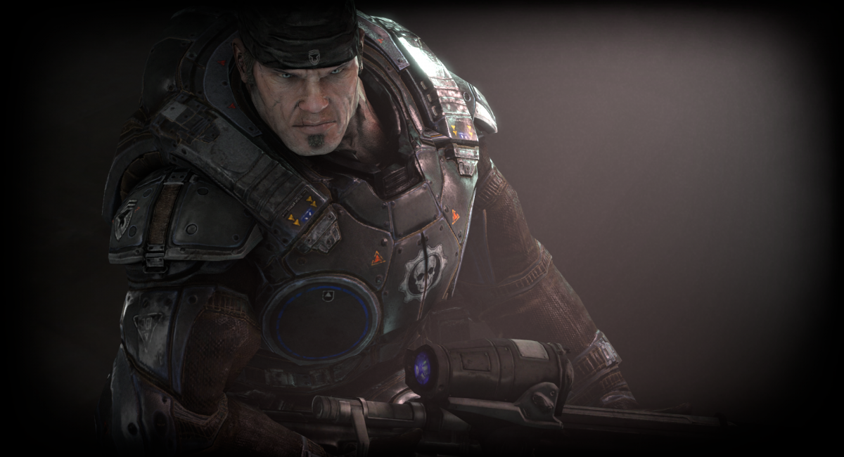 Gears of War - Marcus Fenix