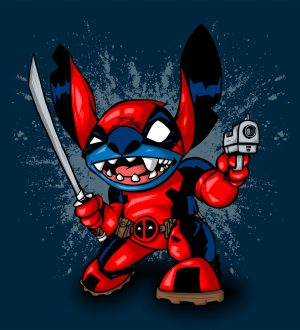 Deadpool + Stitch = StitchPool
