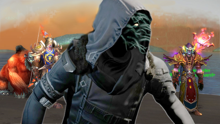 Xur de Destiny em World of Warcraft