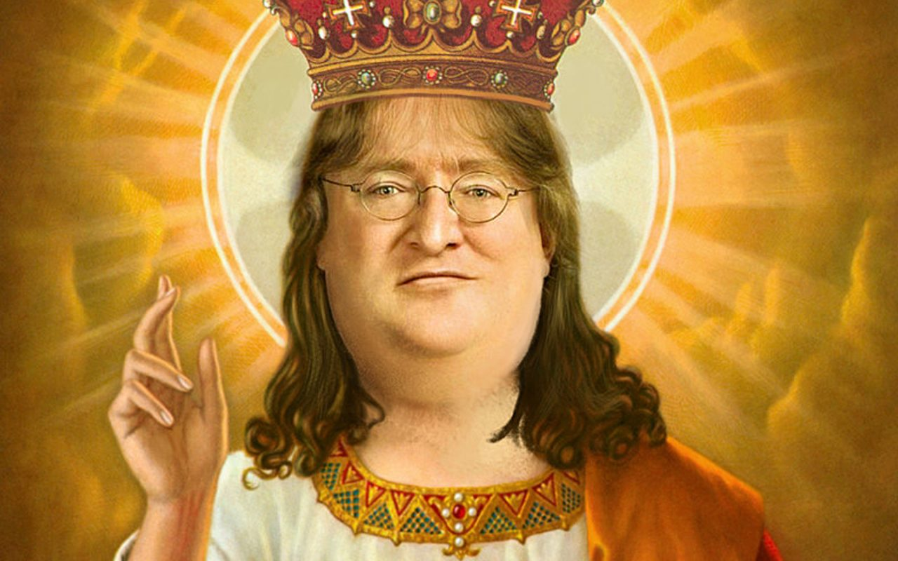 Gabe Newell da Steam