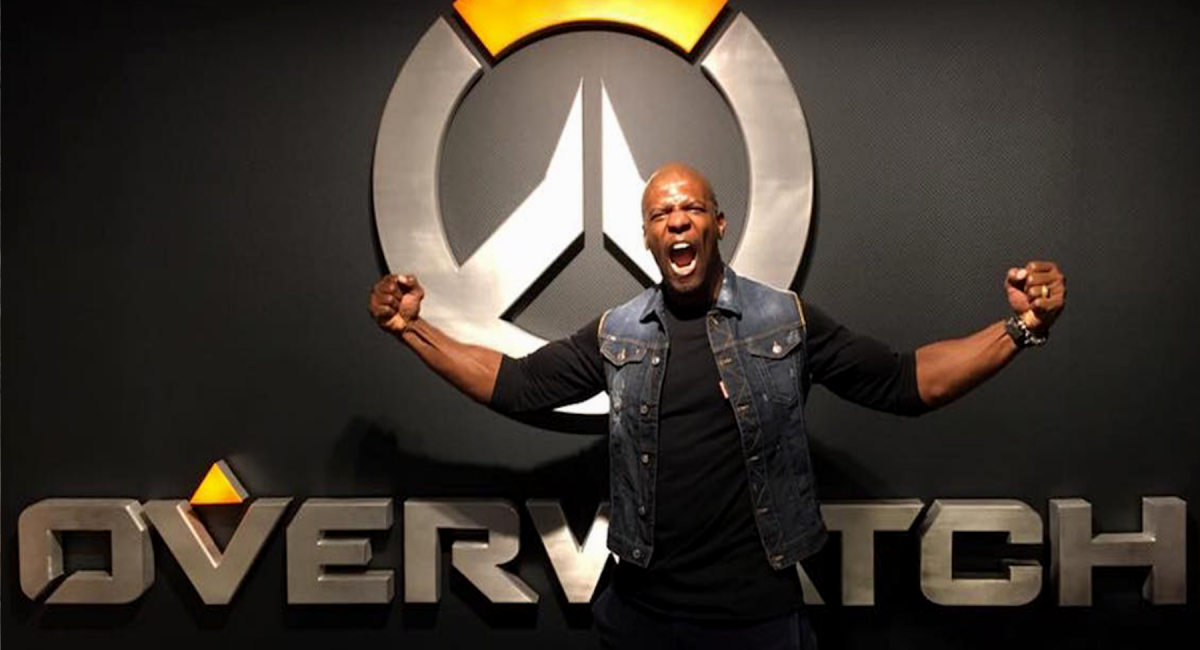 Terry Crews - Overwatch - Retrospectiva Gamer 2017