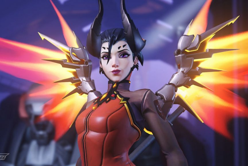 Overwatch - Mercy Malvada