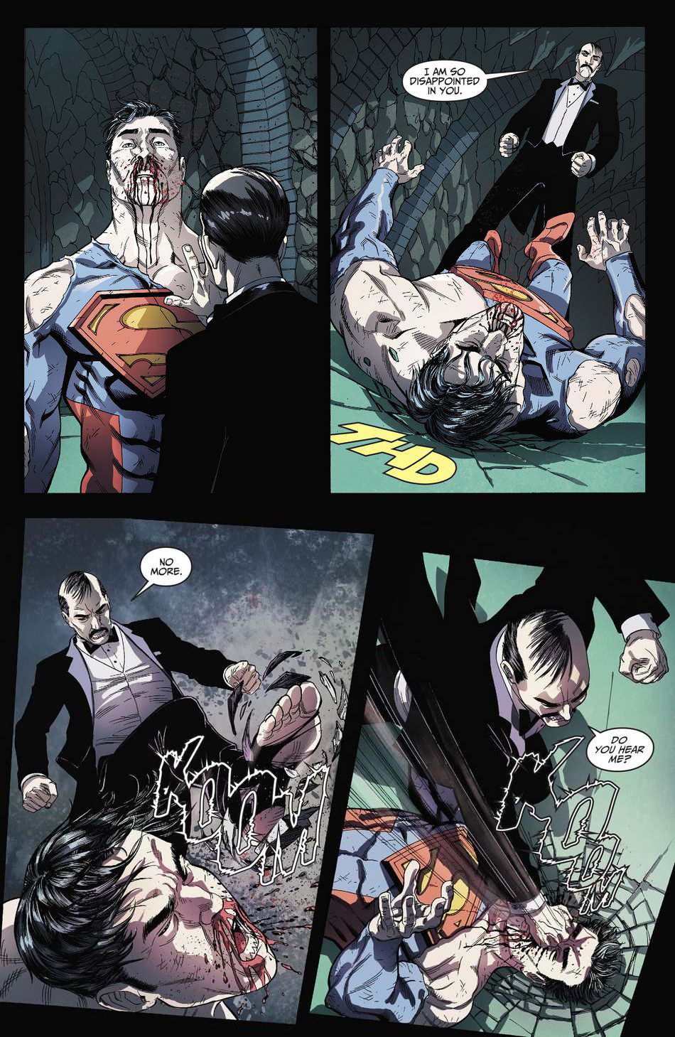Alfred vs Superman
