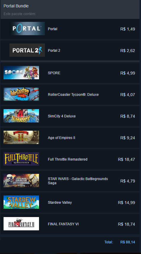 Minha Steam Summer Sale 2017