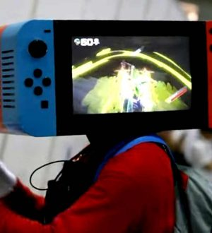 Cosplay de Nintendo Switch