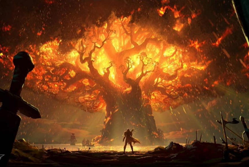World of Warcraft na Blizzcon 2017 - Teldrassil em chamas - Aumento nos preços de World of Warcraft - Battle for Azeroth