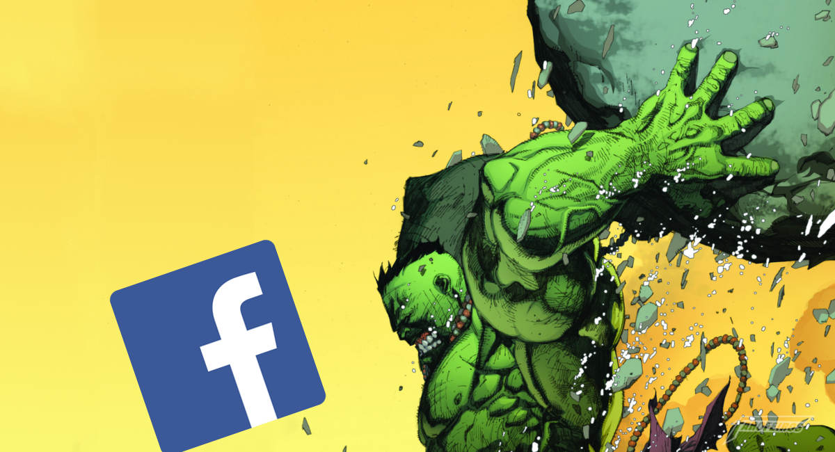 A Crise do Facebook - Hulk