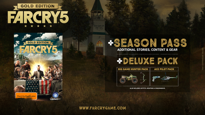 Season Pass de Far Cry 5 - Gold Edition