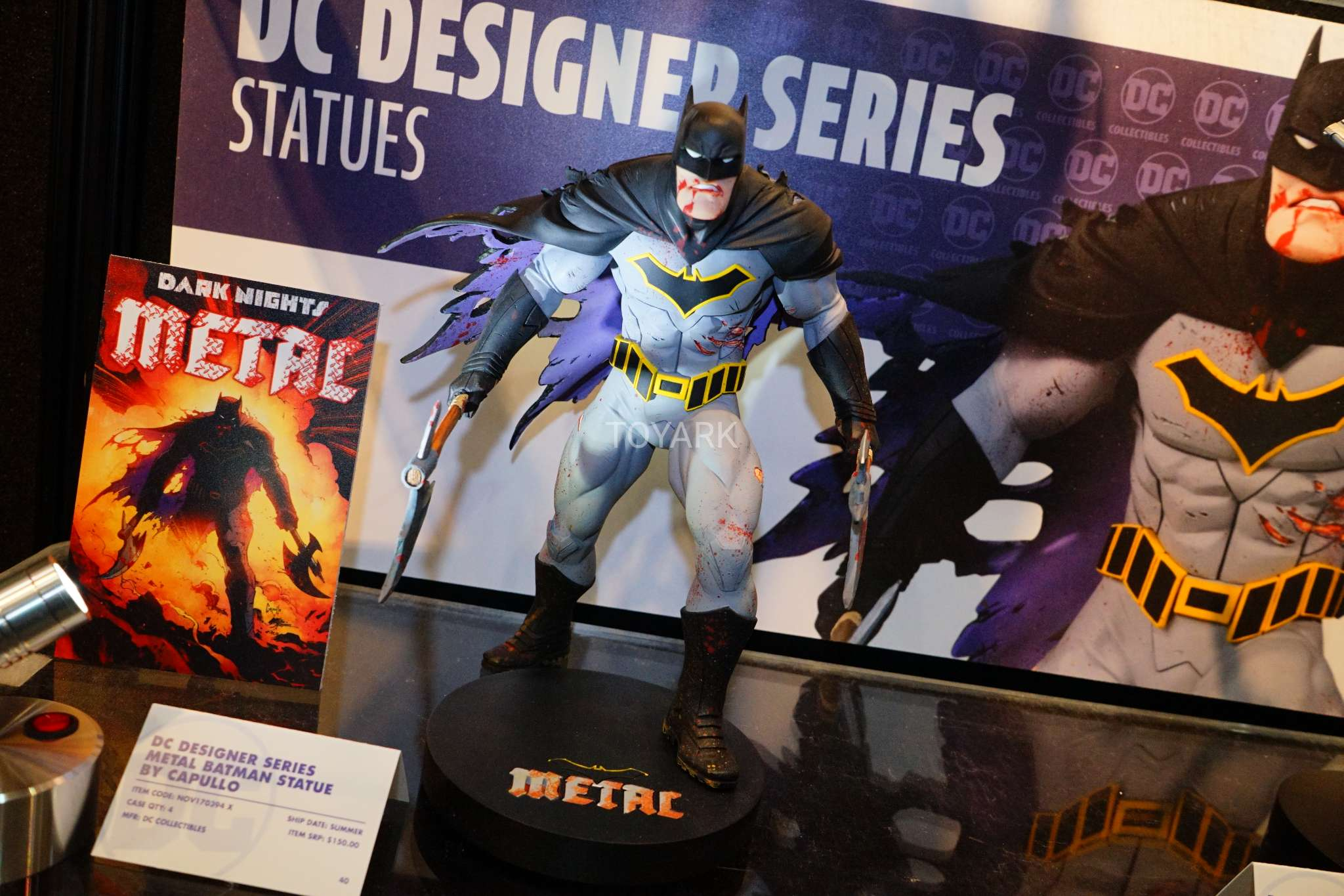 Toy Fair 2018 - DC Collectibles - Batman - Greg Capullo