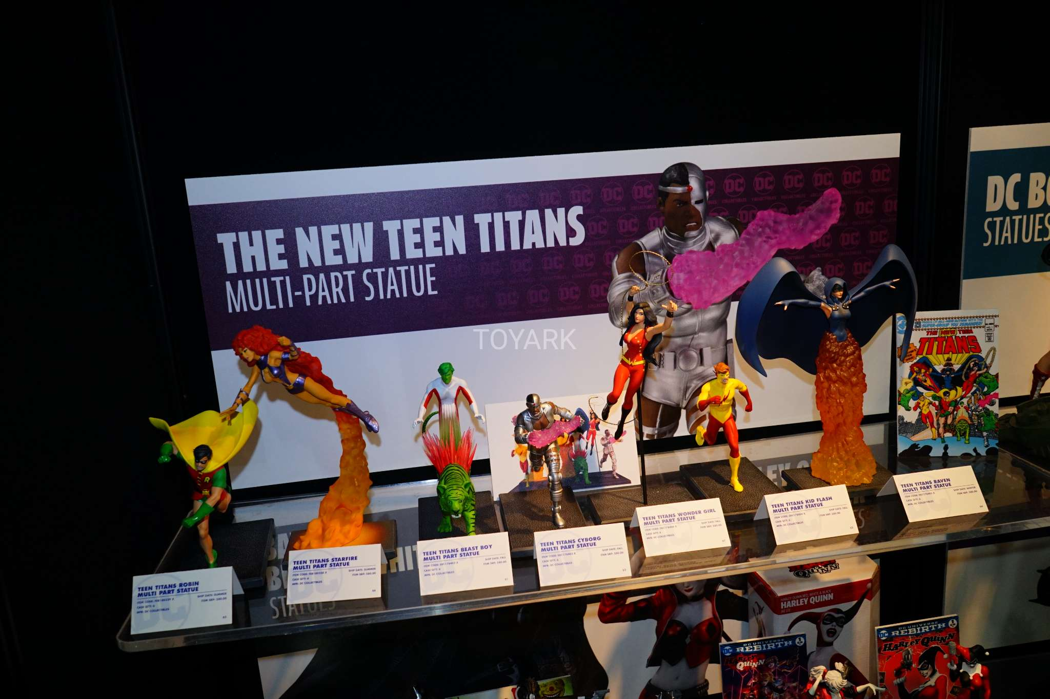 Toy Fair 2018 - DC Collectibles - Novos Titãs