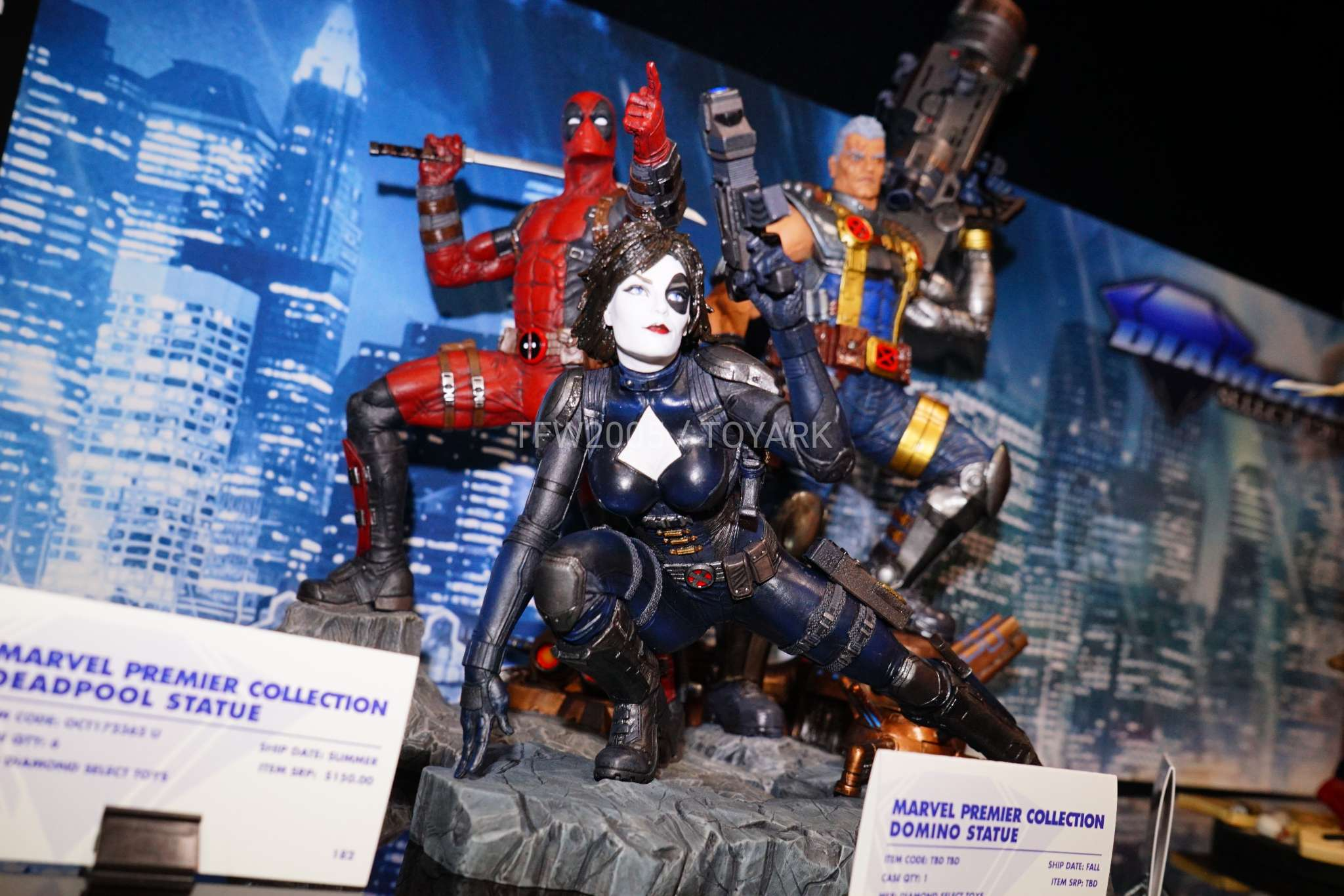 Toy Fair 2018 - Diamond Select - Deadpool - Dominó - Cable