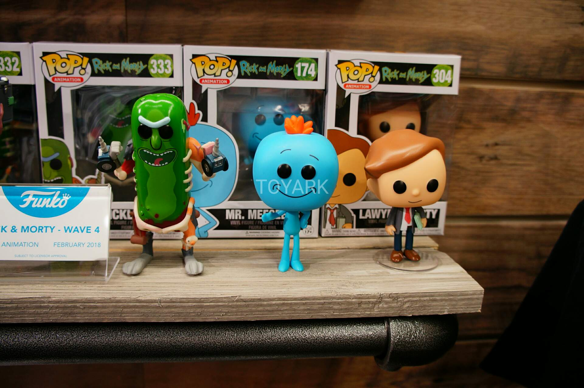 Toy Fair 2018 - Funko - Rick and Morty