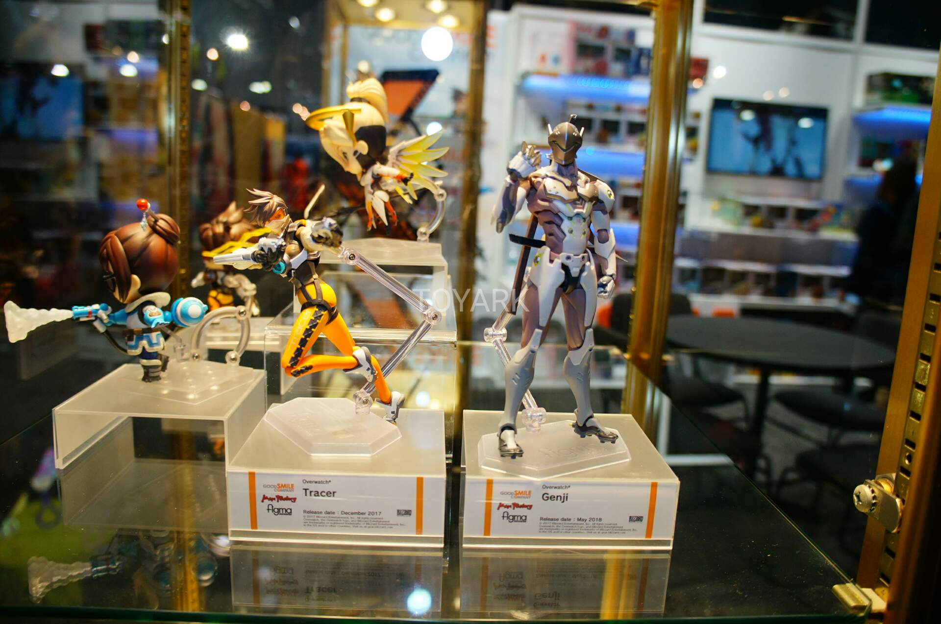 Toy Fair 2018 - Good Smile Company - Figma - Overwatch - Tracer - Genji