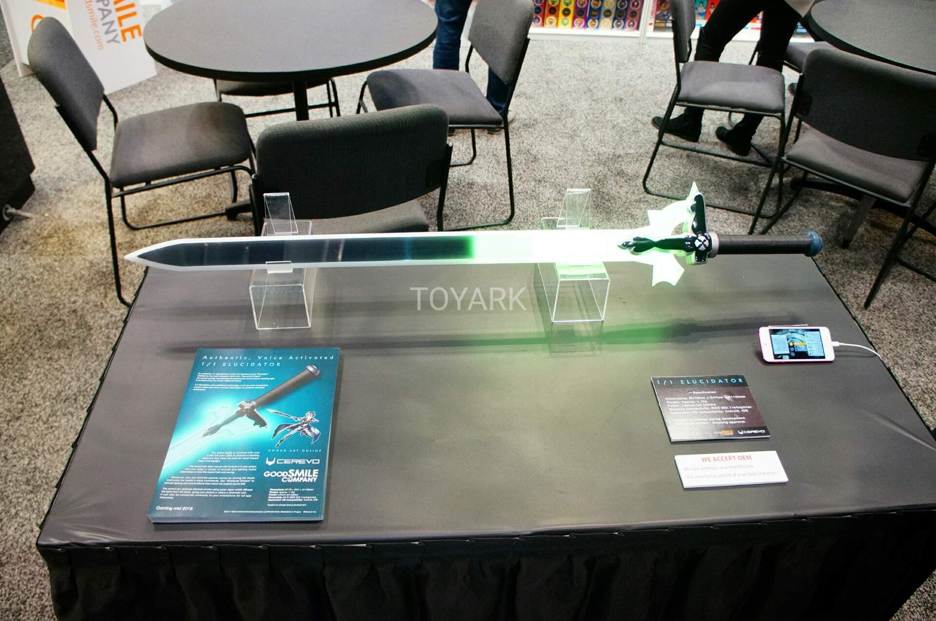 Toy Fair 2018 - Good Smile Company - Sword Art Online - Elucidator
