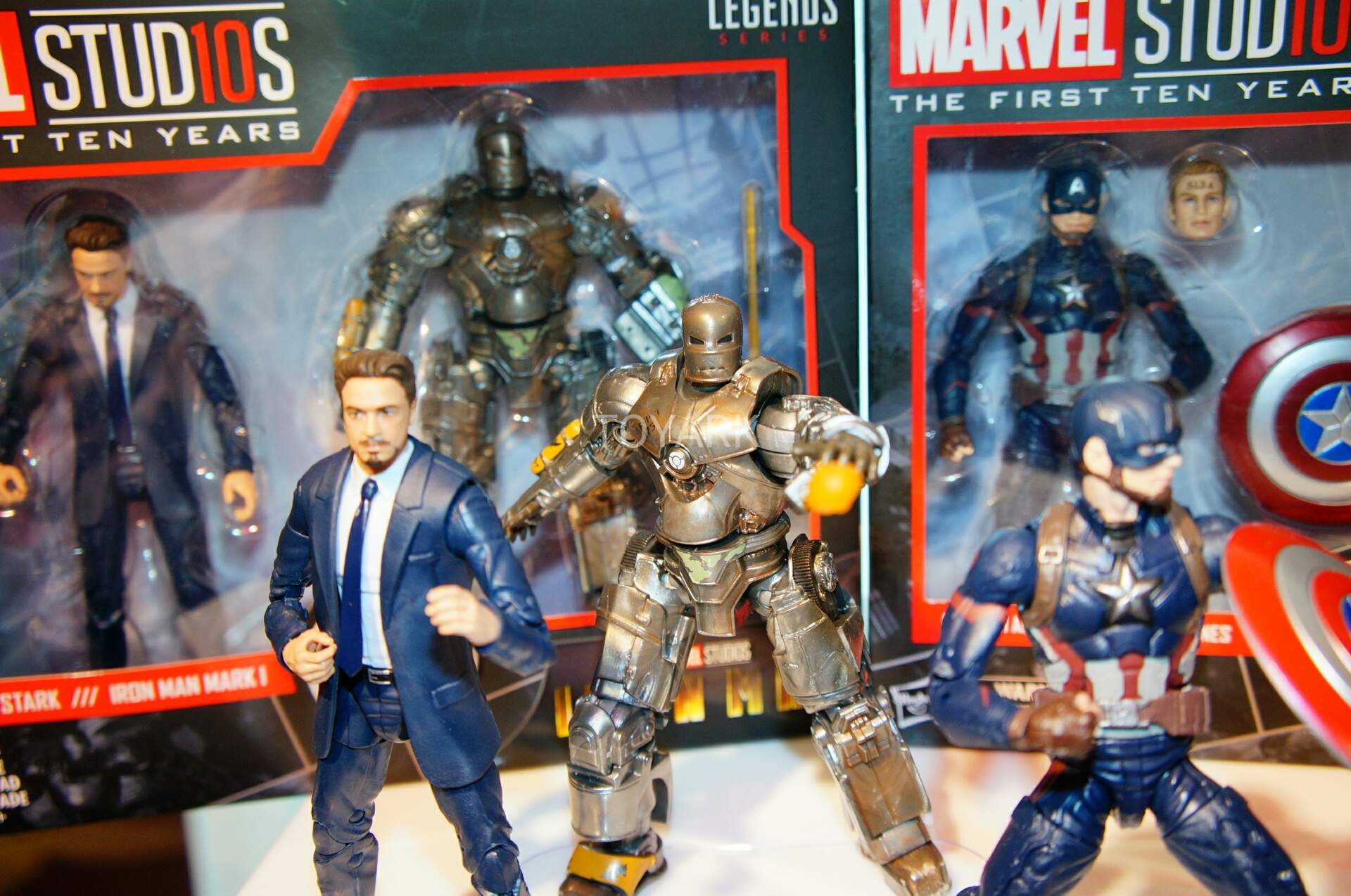 Toy Fair 2018 - Hasbro - Marvel Legends - Marvel Studios - Tony Stark - Mark I