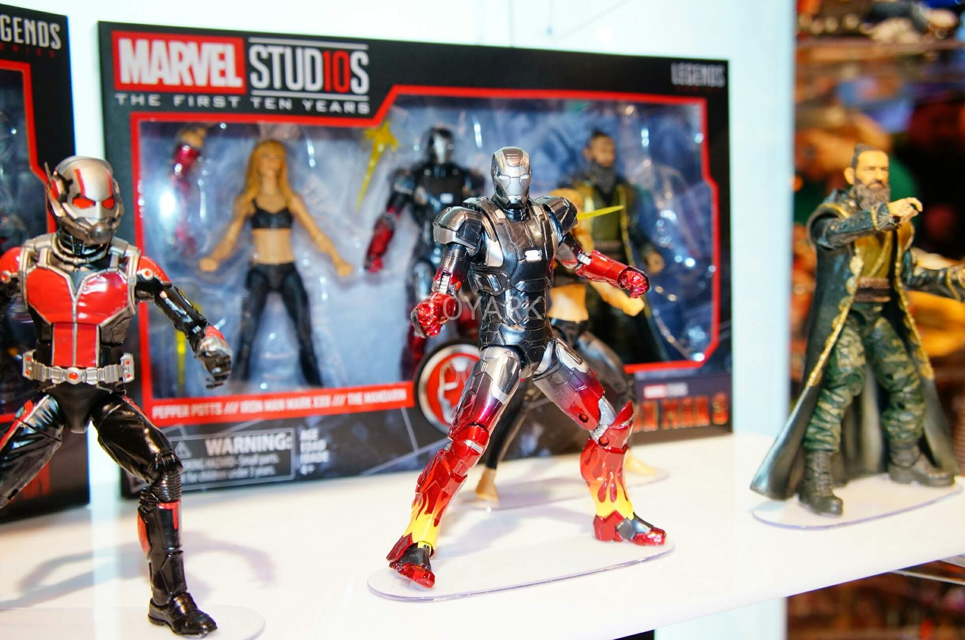 Toy Fair 2018 - Hasbro - Marvel Legends - Marvel Studios - Homem de Ferro 3