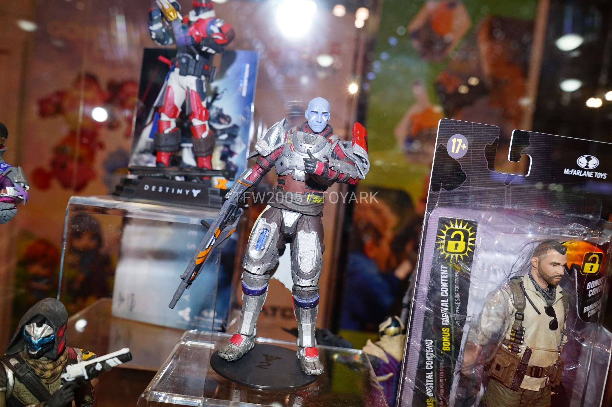 Toy Fair 2018 - McFarlane Toys - Destiny 2