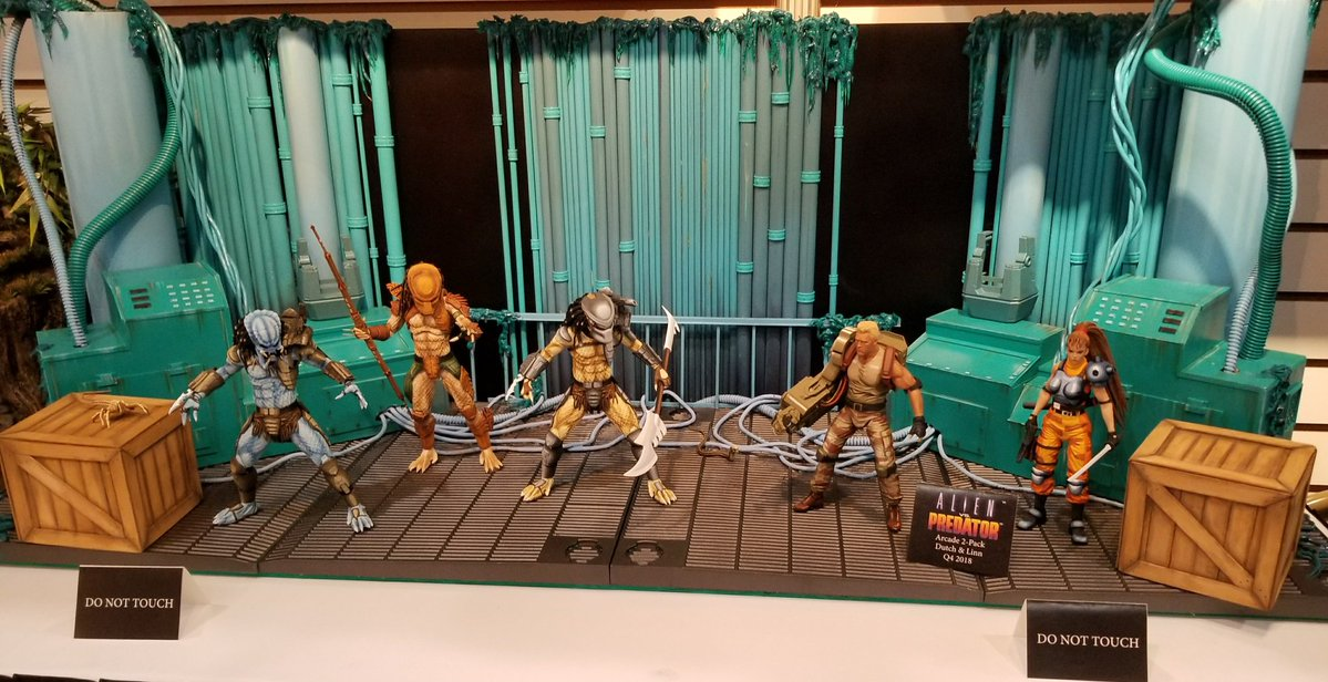 Toy Fair 2018 - NECA - Aliens versus Predador