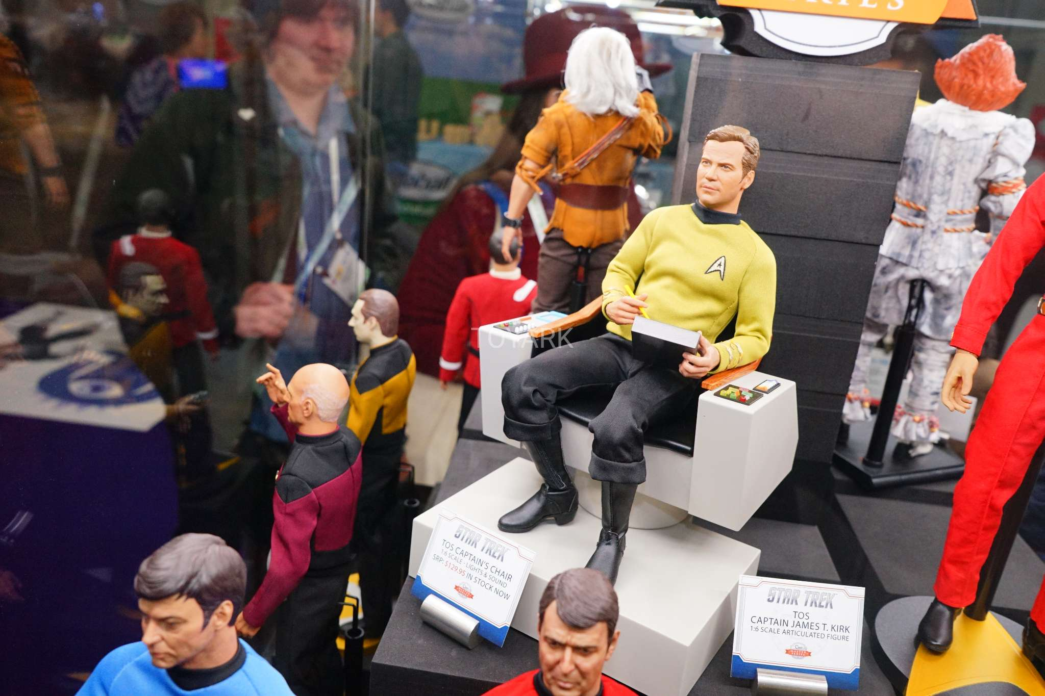 Toy Fair 2018 - Quantum Mechanix - Star Trek