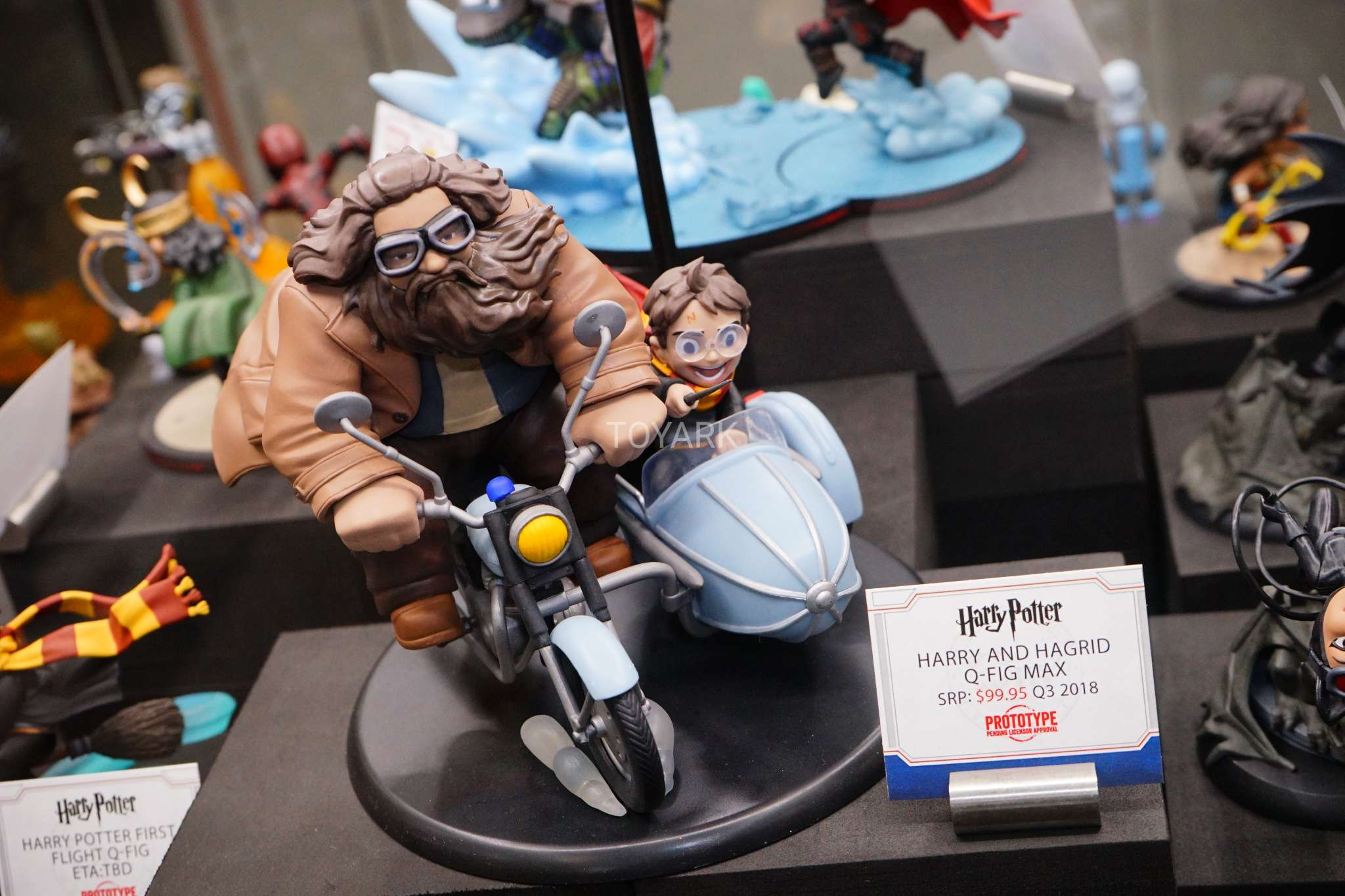 Toy Fair 2018 - Quantum Mechanix - Harry Potter