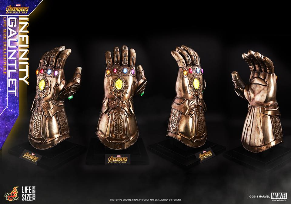 Manopla do Infinito da Hot Toys