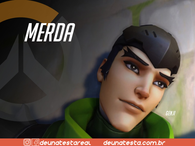 Motivação de Overwatch com frases dos personagens do game - Blog Farofeiros  - Genji