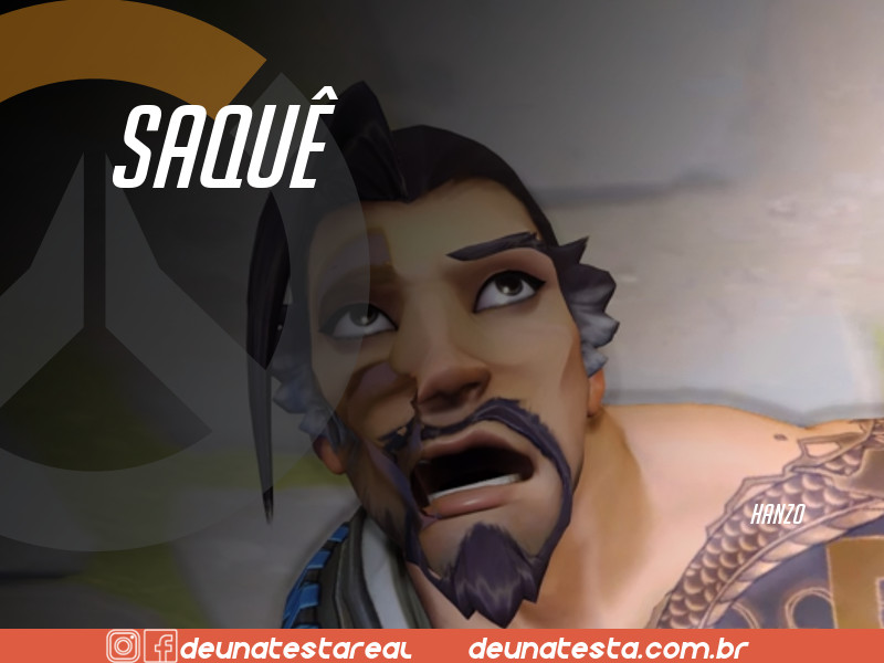 Motivação de Overwatch com frases dos personagens do game - Blog Farofeiros  - Hanzo