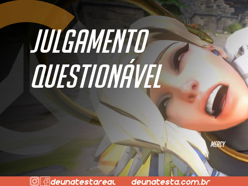Motivação de Overwatch com frases dos personagens do game - Blog Farofeiros  - Mercy