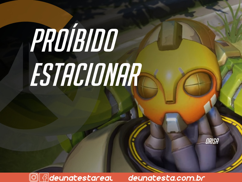 Motivação de Overwatch com frases dos personagens do game - Blog Farofeiros  - Orisa