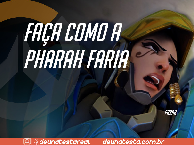 Motivação de Overwatch com frases dos personagens do game - Blog Farofeiros  - Pharah