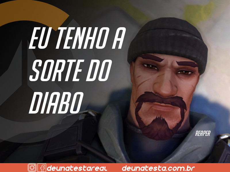 Motivação de Overwatch com frases dos personagens do game - Blog Farofeiros  - Reaper