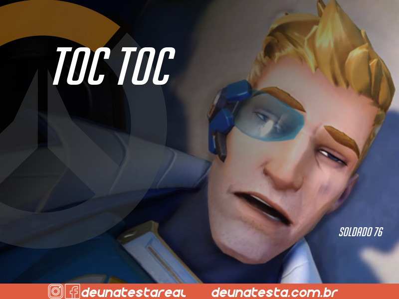 Motivação de Overwatch com frases dos personagens do game - Blog Farofeiros  - Soldado 76
