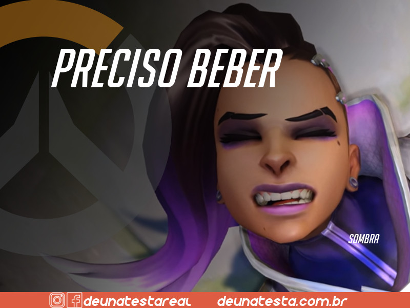 Motivação de Overwatch com frases dos personagens do game - Blog Farofeiros  - Sombra